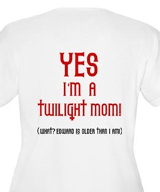 Twilight Moms Sneak Books T-Shirt