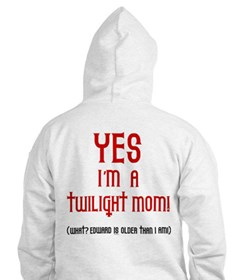 Twilight Moms Sneak Books Hoodie