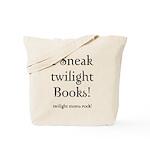 Twilight Moms Sneak Books Tote Bag