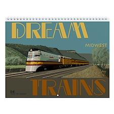 Dream Trains Midwest Wall Calendar