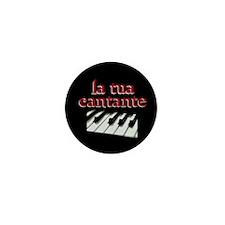 La Tua Cantante, (DARK) Mini Button