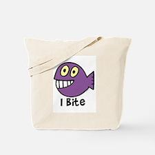 I bite Tote Bag