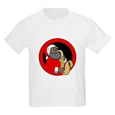 Saxophone Santa T-Shirt