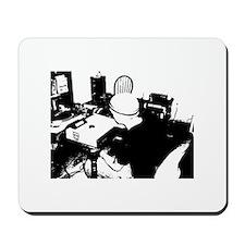 hard at work mouse pad