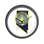 Nevada Highway Patrol Wall Clock