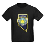 Nevada Highway Patrol Kids Dark T-Shirt