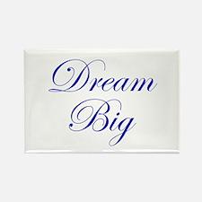 Dream Big Cursive Rectangle Magnet