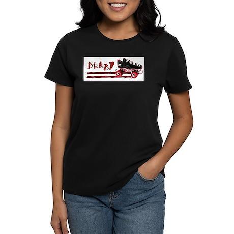 Roller Grrl Women's Dark T-Shirt