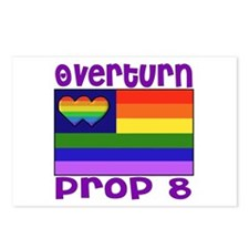 Overturn Prop 8 Postcards (Package of 8)