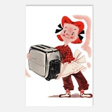 Toaster Girl Postcards (Package of 8)
