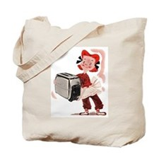 Toaster Girl Tote Bag