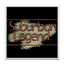 Suburban Legend Tile Coaster
