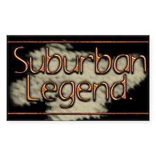 Suburban Legend Rectangle Decal