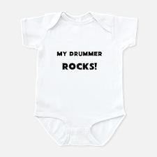 MY Drummer ROCKS! Infant Bodysuit