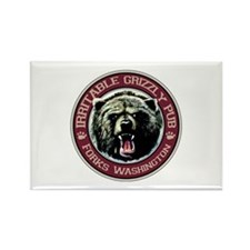 Irritable Grizzly Pub. Rectangle Magnet