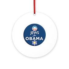 Jews for Obama Ornament (Round)