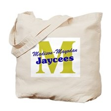 Official M&M Jaycees Logo Tote Bag