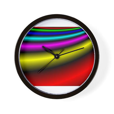 Bolts of Satin Wall Clock
