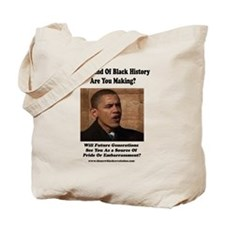 Funny African americans for obama Tote Bag