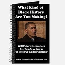 Funny Anti african american Journal
