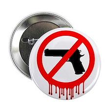 """Cute Gun violence 2.25"""" Button"""