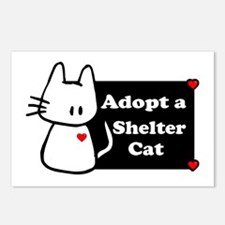Adopt a Shelter Cat Postcards (Package of 8)