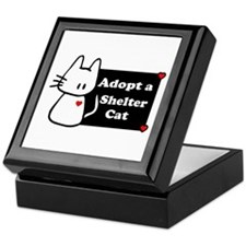 Adopt a Shelter Cat Keepsake Box