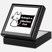 Adopt a Shelter Cat Keepsake Box