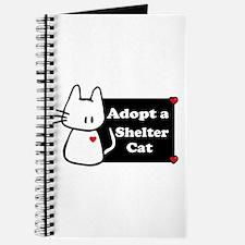Adopt a Shelter Cat Journal