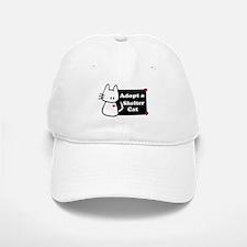 Adopt a Shelter Cat Baseball Baseball Cap