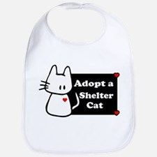 Adopt a Shelter Cat Bib
