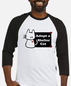Adopt a Shelter Cat Baseball Jersey