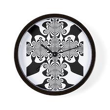 Zebra Cross Wall Clock