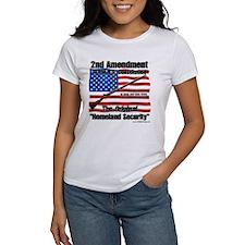 Homeland Security Women's White T-Shirt