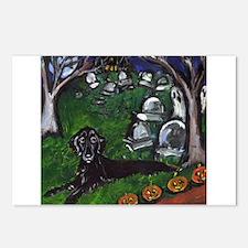 Flattie Graveyard Postcards (Package of 8)