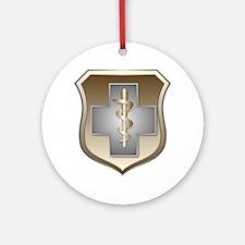 USAF Enlisted Medical Keepsake (Round)