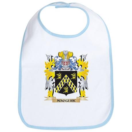 Macgurk Coat of Arms - Family Crest Baby Bib