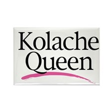Kolache Queen Rectangle Magnet