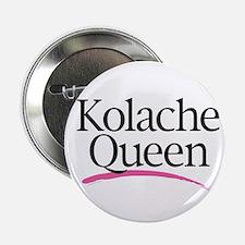 """Kolache Queen 2.25"""" Button (10 pack)"""