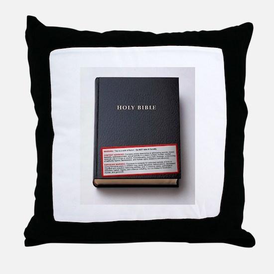 Unique Disclaimer Throw Pillow