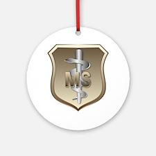 USAF Medical Services Keepsake (Round)