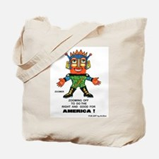 Zoomer for America Tote Bag