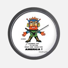 Zoomer for America Wall Clock