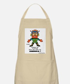 Zoomer for America BBQ Apron
