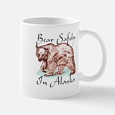 Bear safely in Alaska Mug