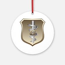 USAF Biomedical Keepsake (Round)