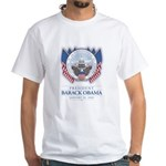 Obama Inauguration White T-Shirt