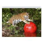 Tiger Auroara Wall Calendar