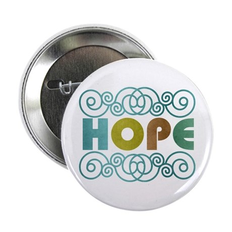 """Hope 2.25"""" Button"""