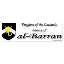 al-Barran populace Bumper Bumper Sticker